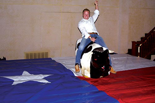 Ride the Mechanical Bull