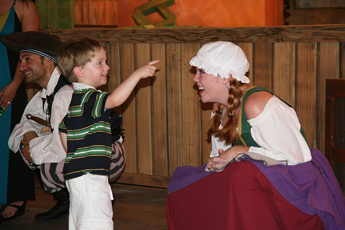 SeaWorld Pirates Plunder Show Photos