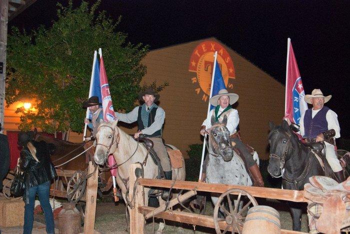 Wranglers on Horseback