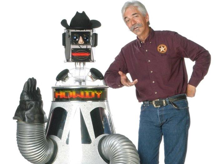 Rusty Gears Robot Cowboy