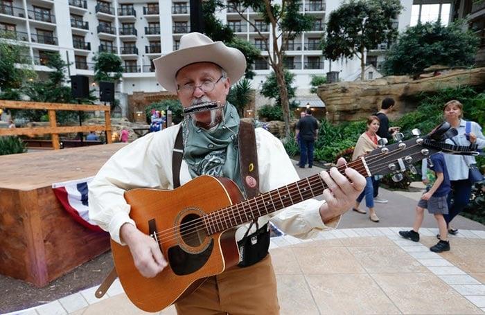 Strolling Cowboy Musician
