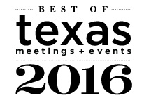 Best of Texas Meetings and Events Winner 2016