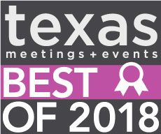 Best of Texas Meetings and Events Winner 2016