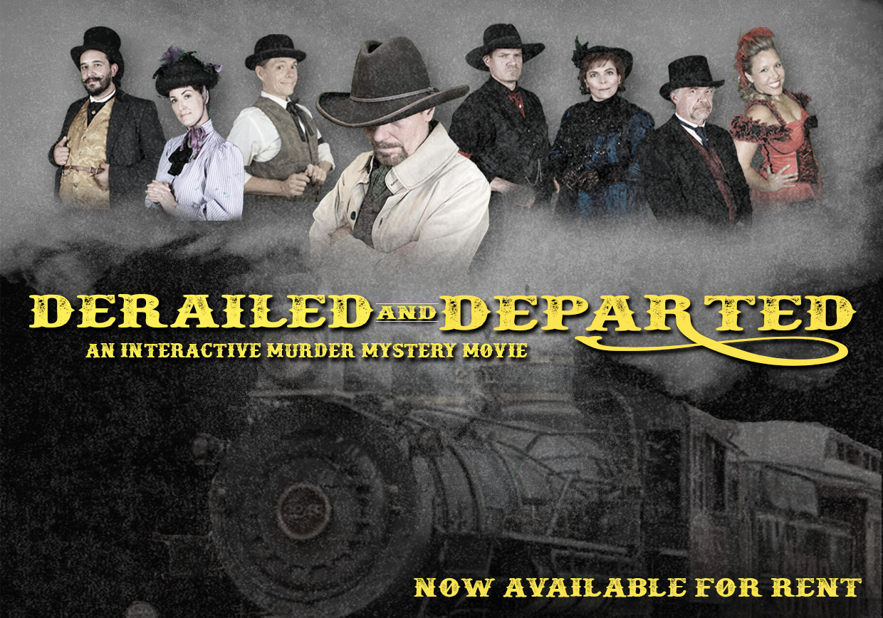 Derailed and Departed Now Available for Rent